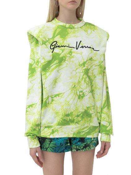 Sweatshirt with Tie-Dye Print image