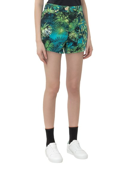 Shorts with Jungle Print image