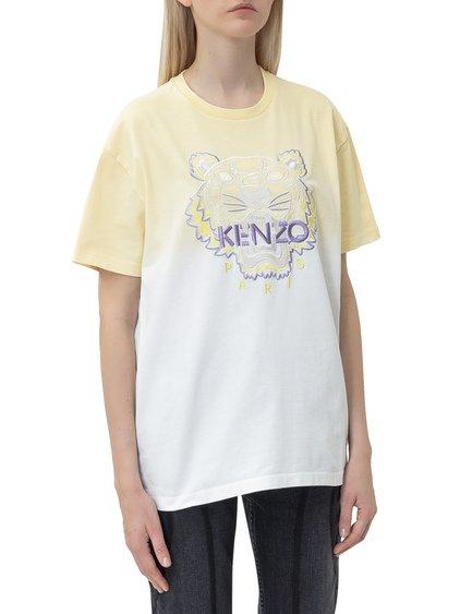Tie-Dye Tiger T-shirt image