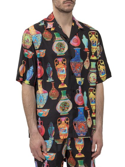 Shirt with Seven Vessels Print image