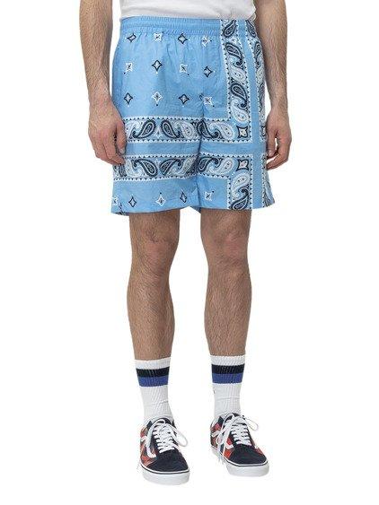 Bermuda Shorts with Paisley Print image