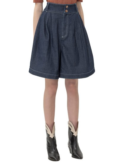 Bermuda Shorts with Buttons image
