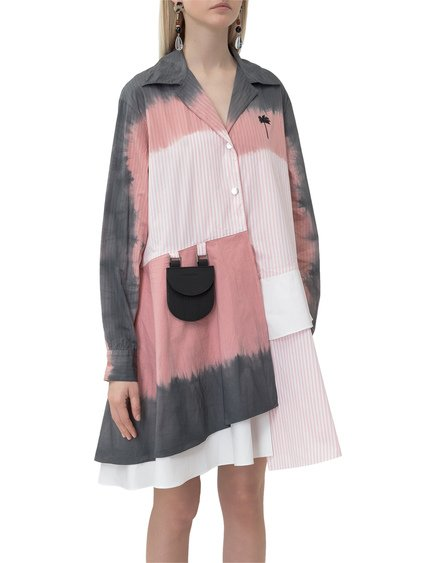 Dress with Tie-Dye Print image