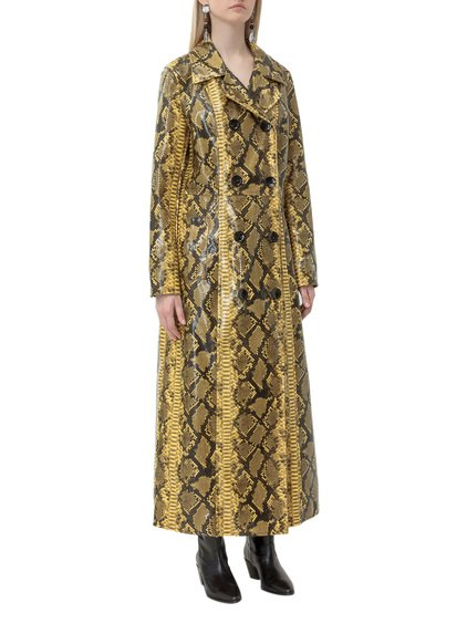 Trench Coat with Print image