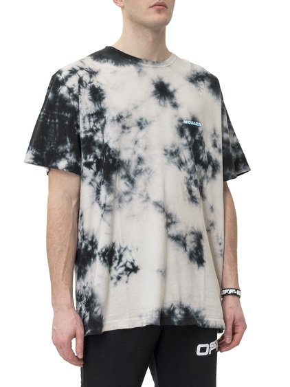T-shirt with Tie-Dye Print image