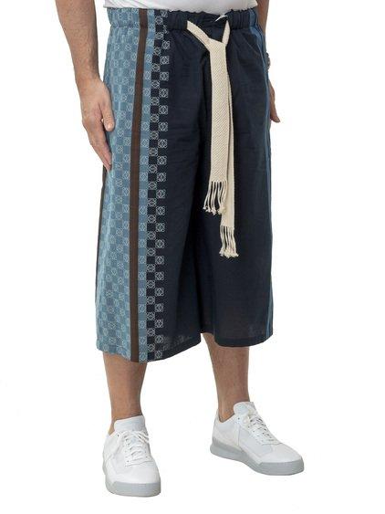 Stripe Anagram Shorts image