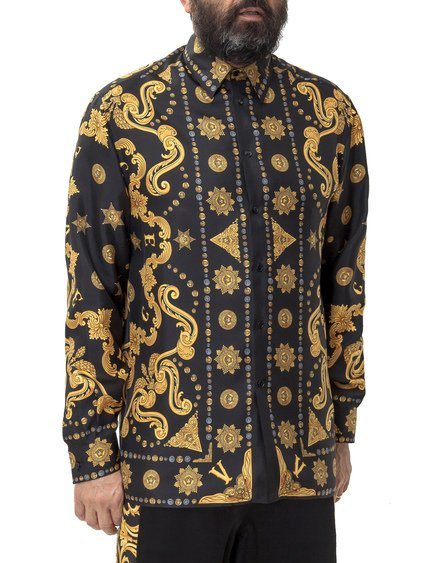 Shirt with Print Barocco Western image