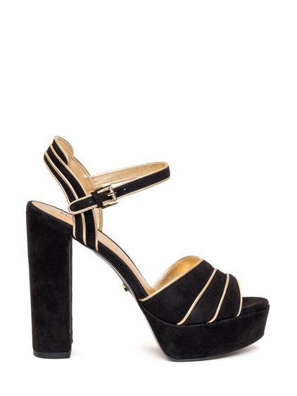 Harper Suede Sandals image