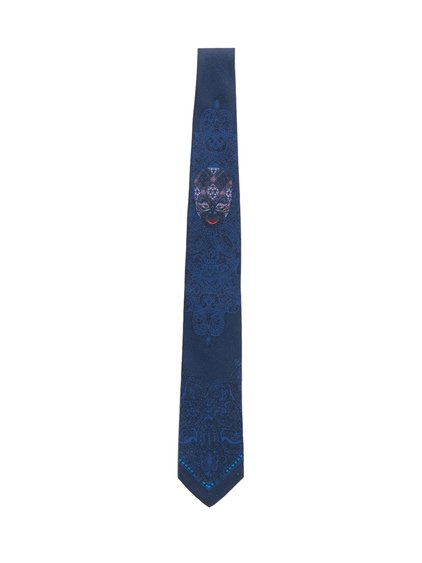 Silk Tie with Pattern image