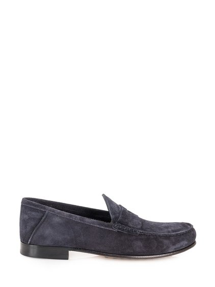 Suede Leather Loafer image
