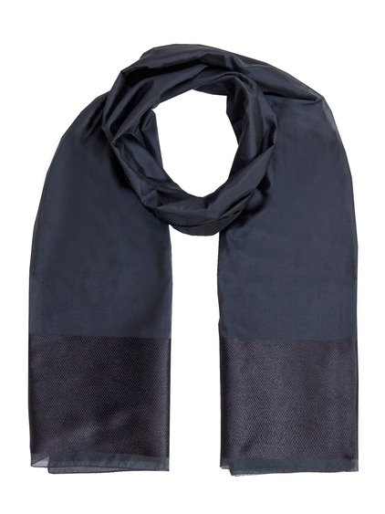 Scarf with Contrast Insert image
