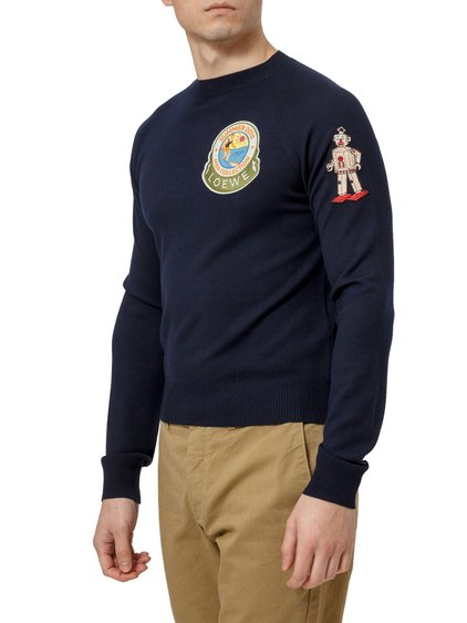 Wool Patch Sweater image