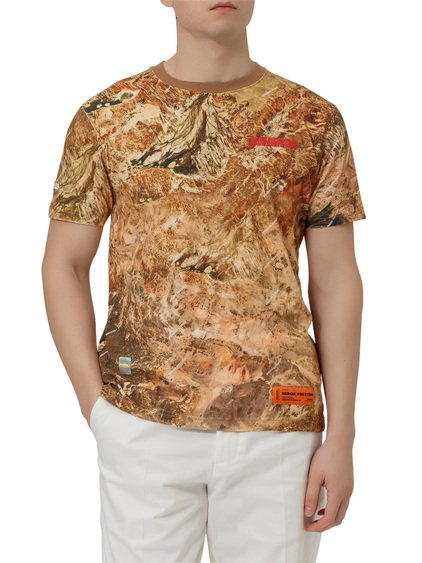 Camo Print T-shirt image