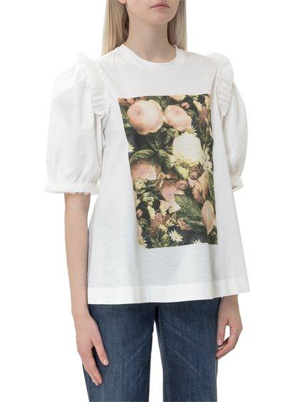 4 Moncler Simone Rocha T-Shirt with Print image