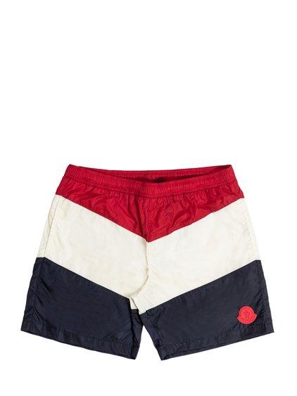 Tricolor Swim Shorts image
