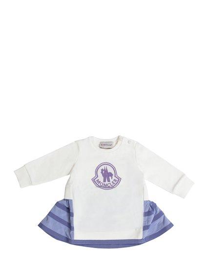 Cotton Logo Dress image
