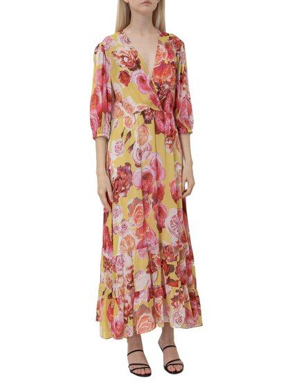 Dress with Floral Print image