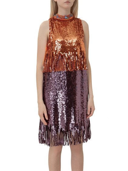 Dress with Sequins image