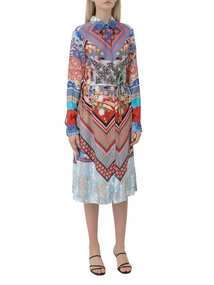 Chemisier Dress with Print image