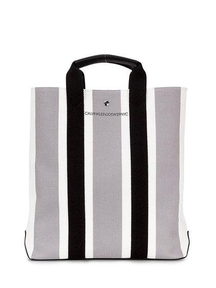Striped Tote Bag image