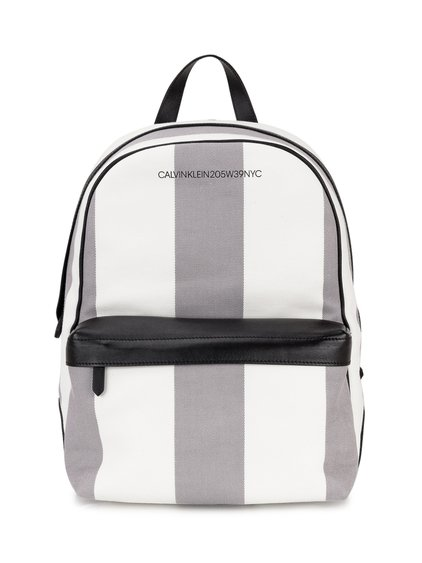 Striped Backpack image