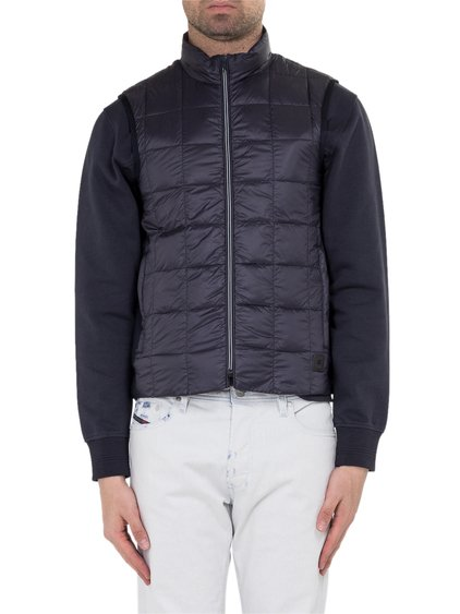 Down Vest with Gros-Grain Side Band image
