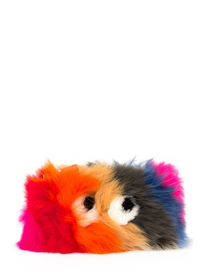 Creeper Shearling Clutch image