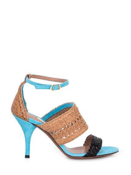 Tricolor Twine Sandal image