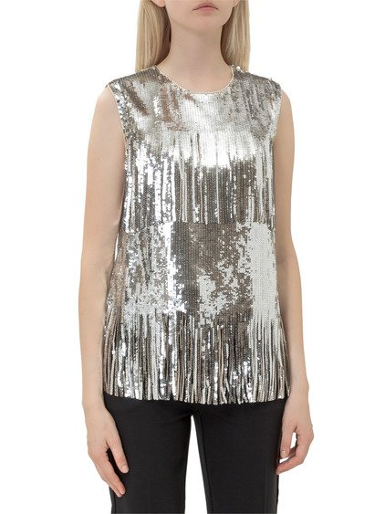 Top with Sequins image