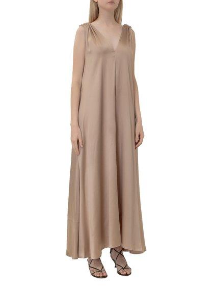 Dress with V Neck image