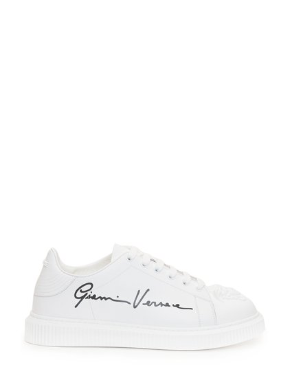 Sneakers with Embossed Logo image