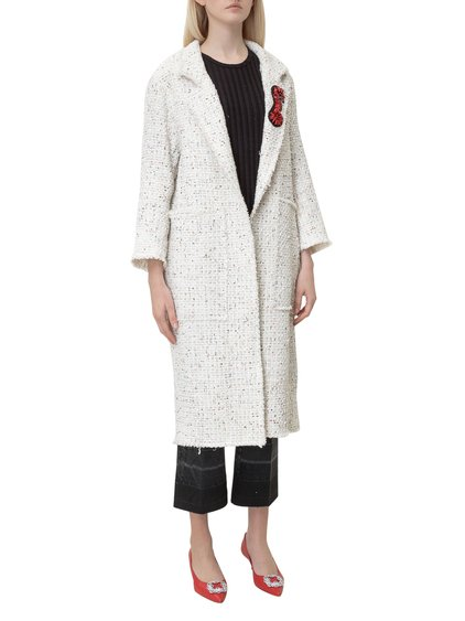 Coat with Patch image