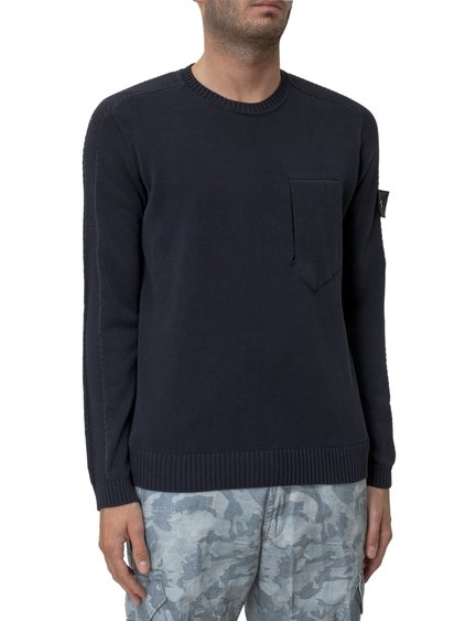 Sweater with Logo Patch image