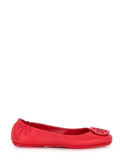 Minnie Leather Ballerina Flat image