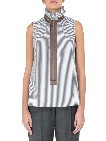 Striped Embellished Shirt image
