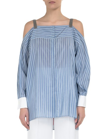 Silk Off-The-Shoulder Top image