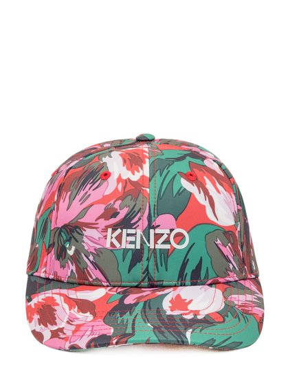 Kenzo x Vans Tulipes Baseball Hat image
