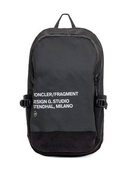 7 Moncler Fragment Backpack with Print image