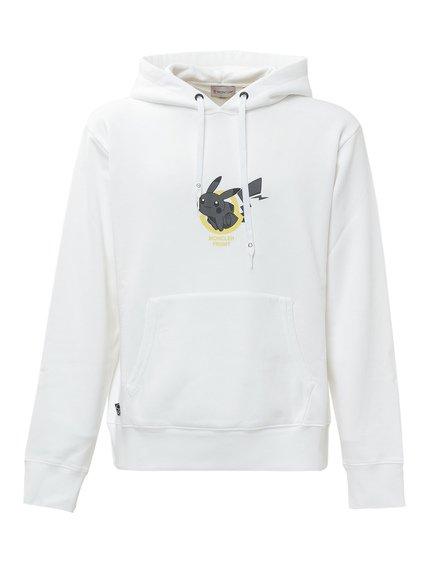 7 Moncler Fragment Sweatshirt with Pokémon Print image