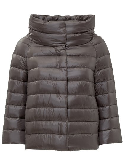 Three Quarter Sleeved Down Jacket image