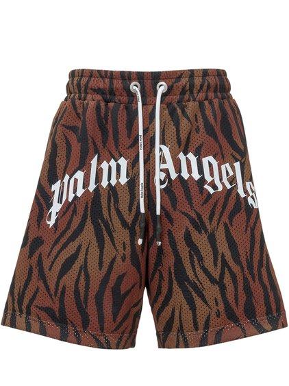 Tiger Print Shorts image