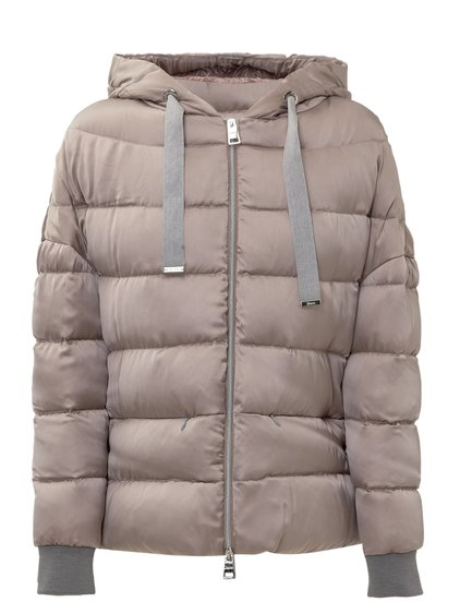 Down Jacket with Slits image