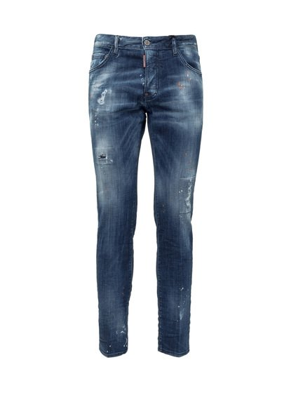 Distressed Effect Jeans image