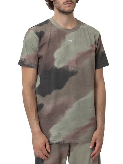 Camouflage T-Shirt with Logo image