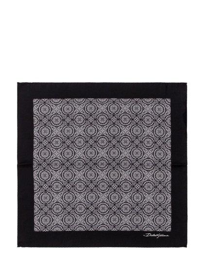 Pochette with Geometric Pattern image