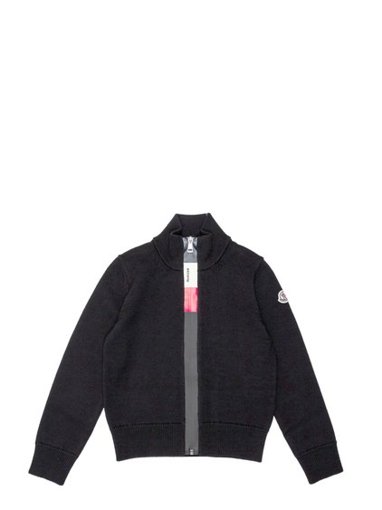 Cardigan with Zip and Logo image