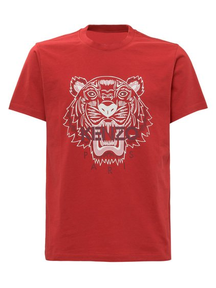 T-shirt with Tiger Print image