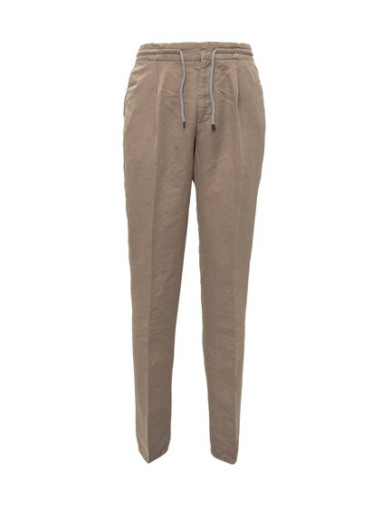Trousers with Elastic Waistband image