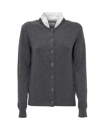 Cardigan with Scarf image