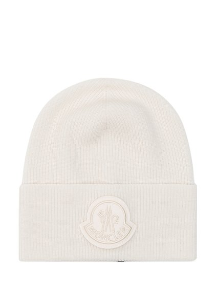 Tricot Beanie with Patch Logo image